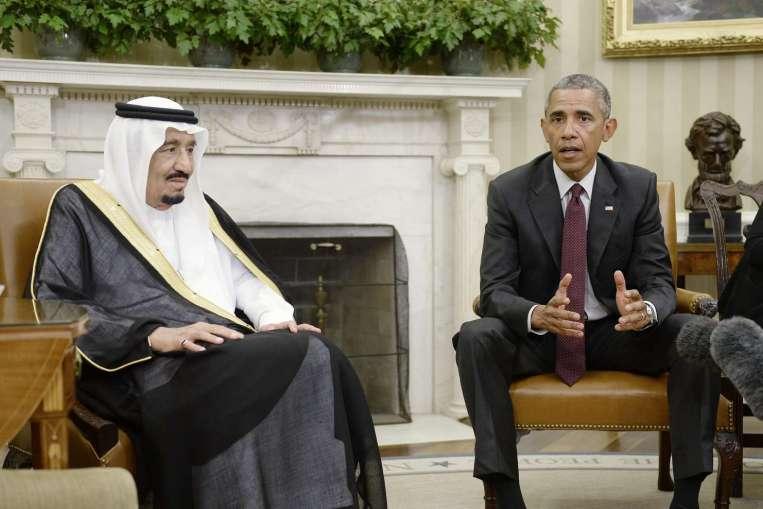 Обама и король Саудовской Аравии, vigiljournal.com