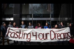протесты в Нью-Йорке, vigiljournal.com
