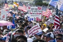 Бунт мигрантов