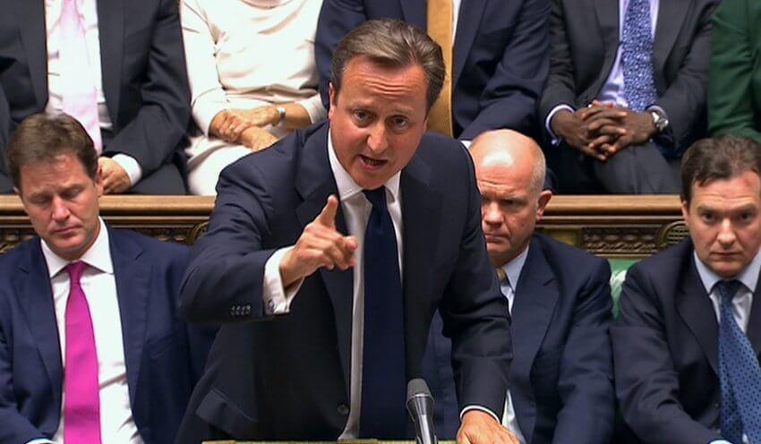 Gobierno de Inglaterra