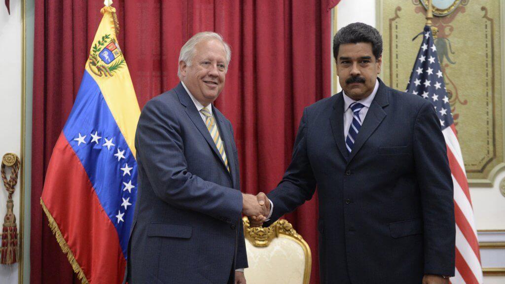 Maduro y Shannon