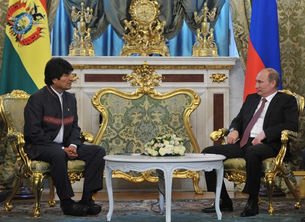 Putin y Morales