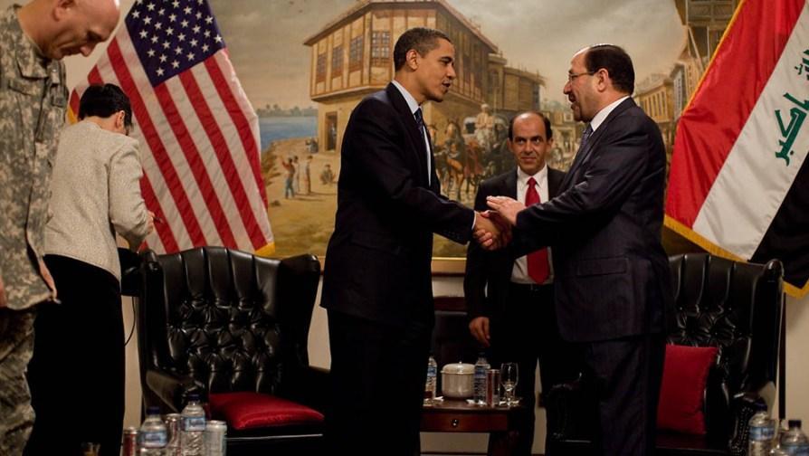 Obama en Iraq