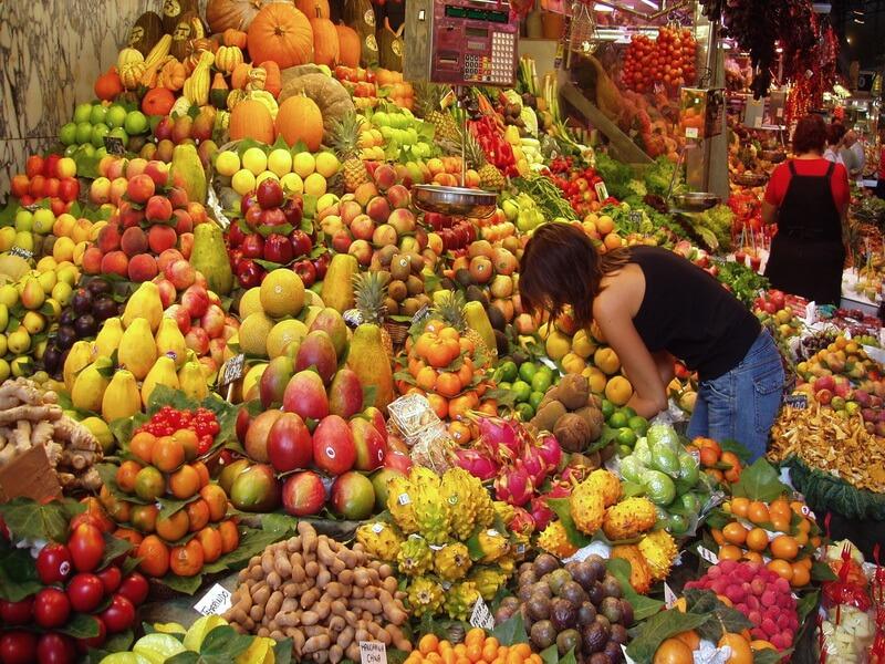 Аргентинские овощи и фрукты