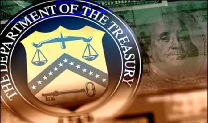 Ministerio de Finanzas de los EEUU