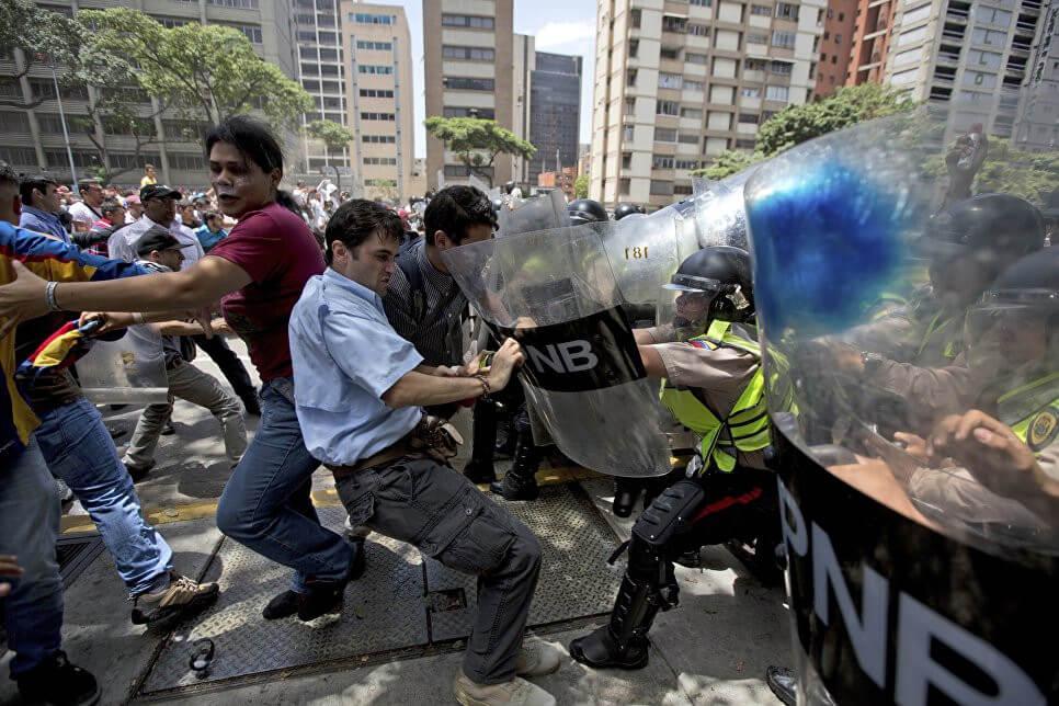 Беспокойства в Венесуэле