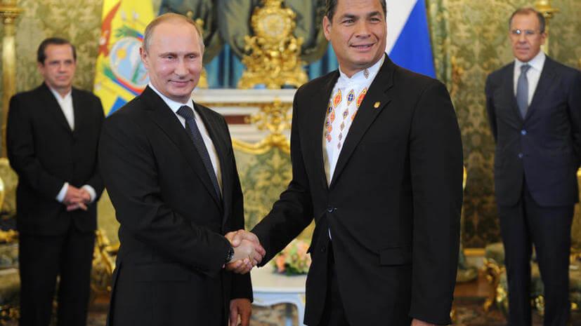 Путин и Корреа