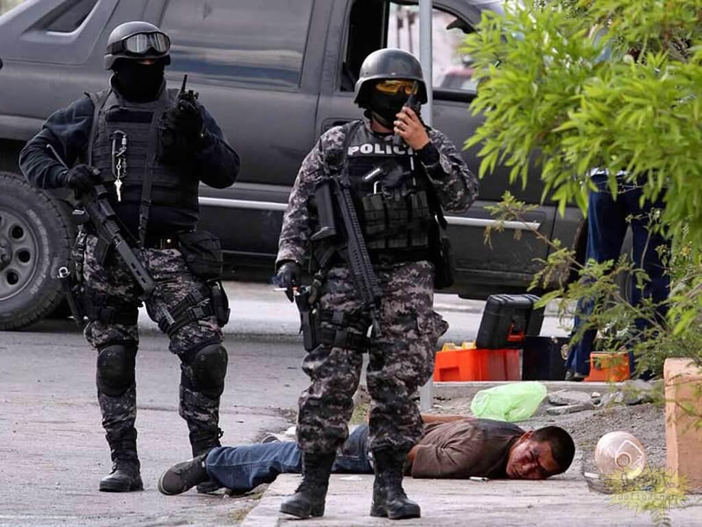 Полиция в Мексике, vigiljournal.com