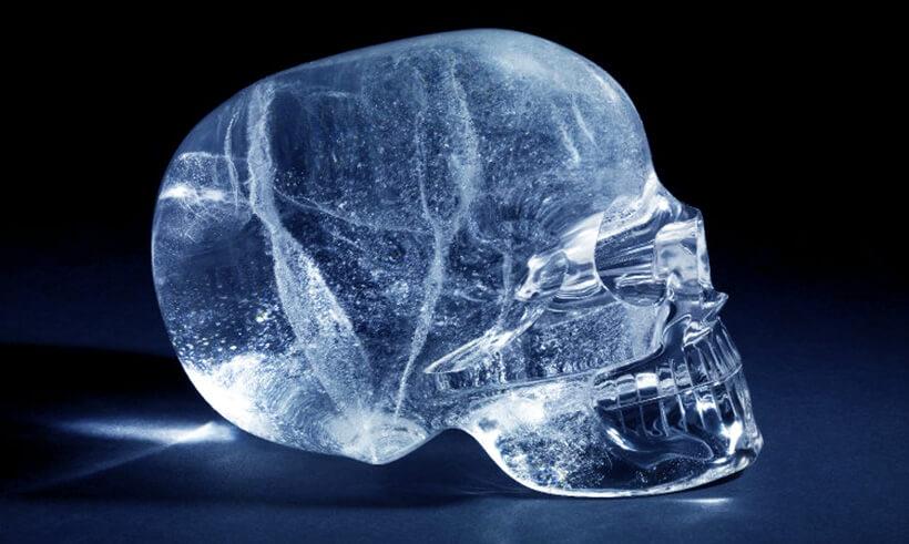 Хрустальный череп из Перу