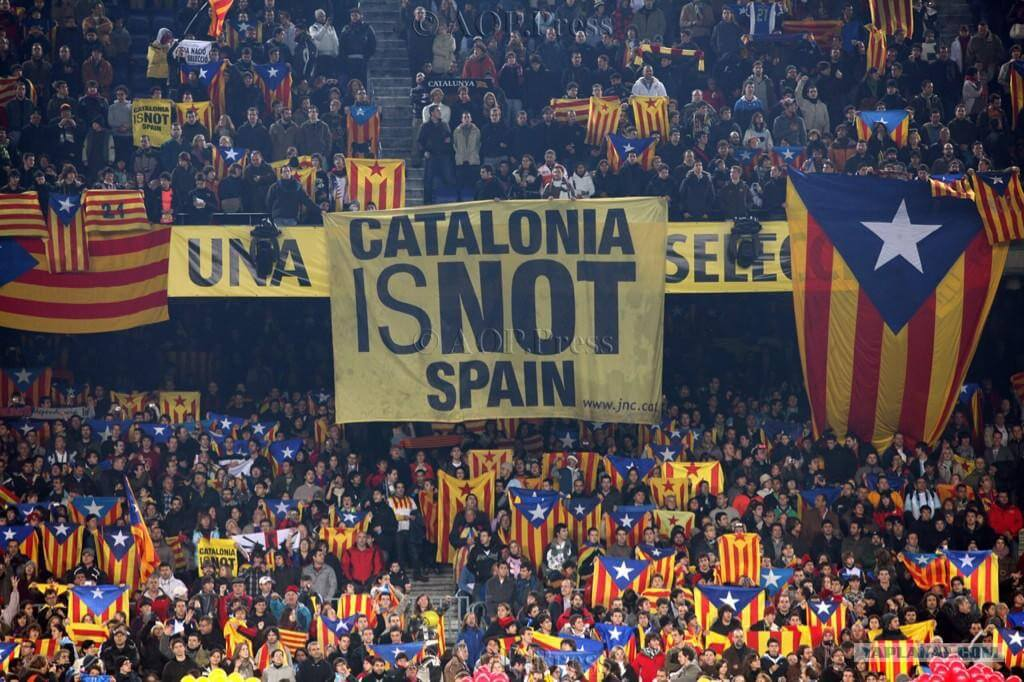 The independance of Catalonia