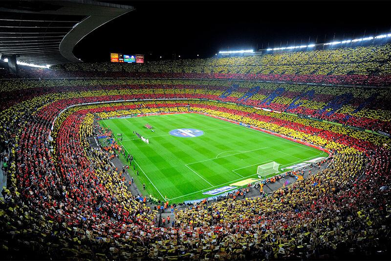 Nou Camp Stadium Barcelona