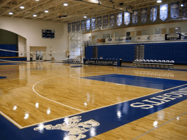 School gym in USA