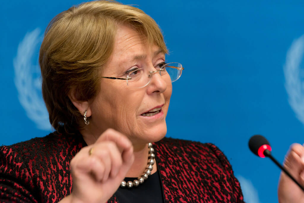 Michelle Bachelet, vigiljournal.com