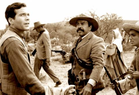 Мексиканский ковбой Панчо Вилья