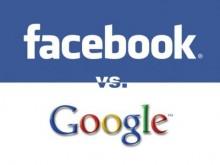 Facebook против Google